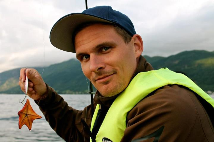 Jesper catches deadly norwegian seastar