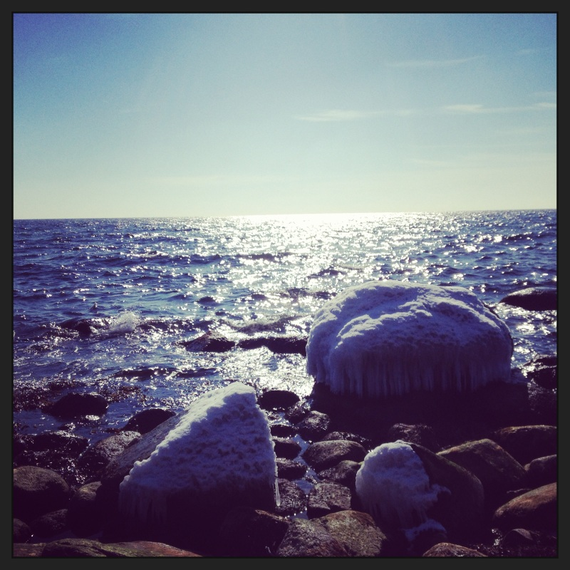 Sun and ice - Bornholm is nice