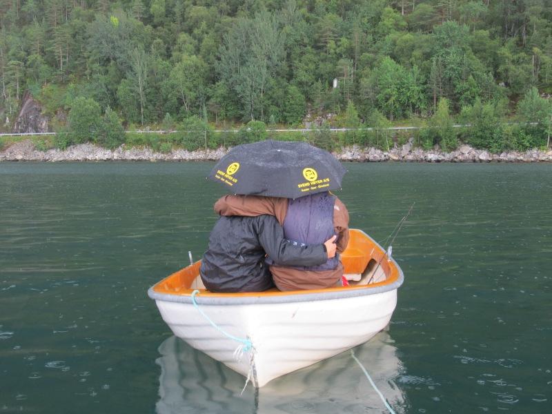 Hardangerfjorden boat
