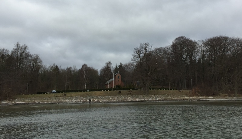 Church in the wild at Lundeborg