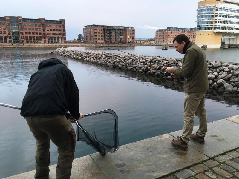 Guided fishing trip Copenhagen_Frederik
