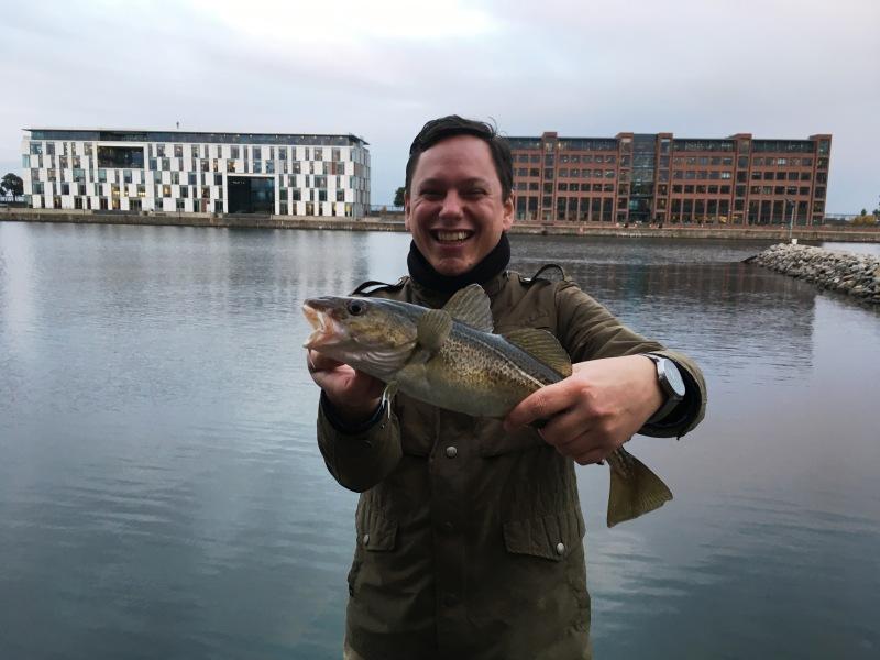 Guided fishing trip Copenhagen_Marius