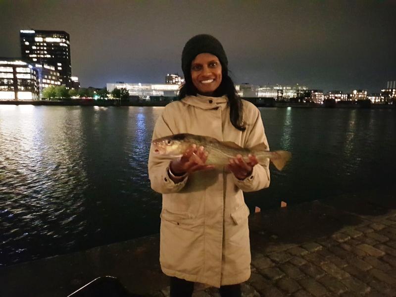Guided fishing trip Copenhagen_Mette